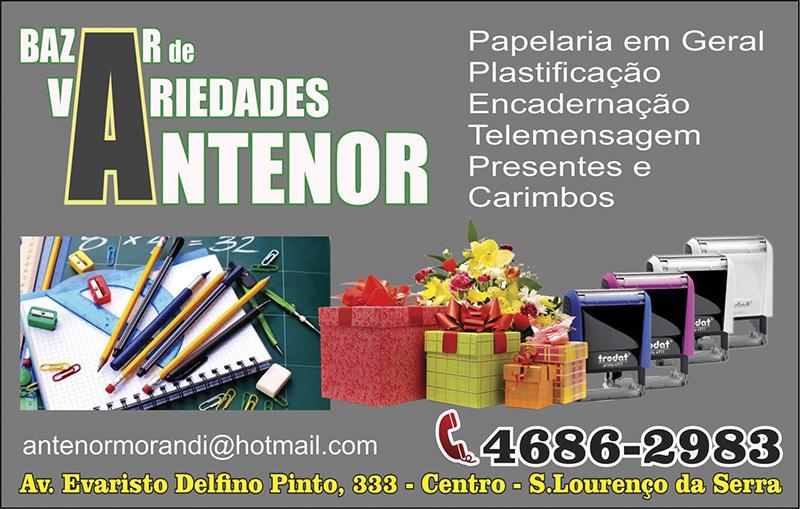 BAZAR DE VARIEDADES ANTENOR -03-OITAVO