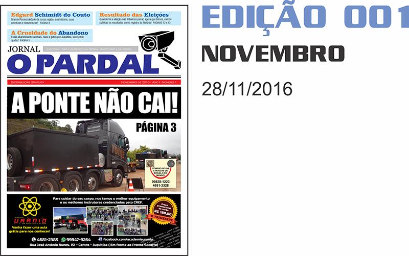 EDIÇÃO DIGITAL 001